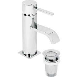 Wave Taps Basin Mixer - 24746 - from Toolstation