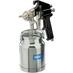 Draper Draper High Pressure Air Spray Gun 1L - 24765 - from Toolstation