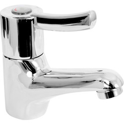 Sequential Basin Mixer Tap Chrome - 24794 - from Toolstation