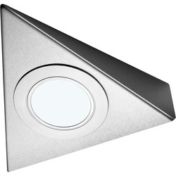 Sensio Sensio LED Low Voltage Triangle Under Cabinet Light 24V Cool White 85lm fitting only - 24802 - from Toolstation