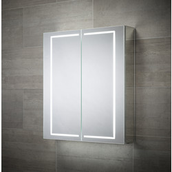 Sensio Sensio Sonnet Double Door LED Mirror Cabinet 700 x 600 x 138mm - 24811 - from Toolstation