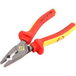 CK C.K Redline VDE Electrician's Pliers 180mm - 24819 - from Toolstation