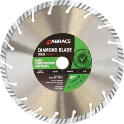 Abracs Abracs Specialist Diamond Blade HCM Pro 230 x 22mm - 24824 - from Toolstation