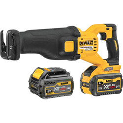 DeWalt DeWalt 54V XR FlexVolt High Power Reciprocating Saw 2 x 6.0Ah - 24882 - from Toolstation
