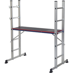 Youngman Youngman Combination Ladder 5 Way & Platform - 24952 - from Toolstation