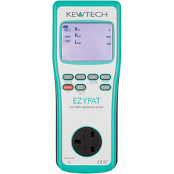 Kewtech Kewtech EZYPAT PAT Tester 130 x 140 x 295mm - 24976 - from Toolstation