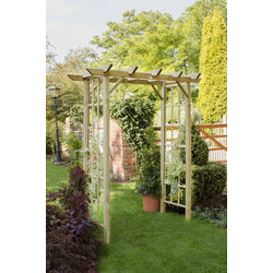 Forest Forest Garden Classic Arch 214cm (h) x 180cm (w) x 72cm (d) - 25042 - from Toolstation