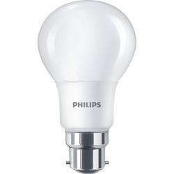 Philips Philips LED A Shape Lamp 8W BC (B22d) 806lm - 25067 - from Toolstation