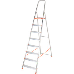 TB Davies TB Davies Light Duty Platform Step Ladder 8 Tread SWH 3.3m - 25092 - from Toolstation