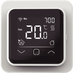 C16 Digital Wifi Thermostat Max. 3600W 16A - 25094 - from Toolstation