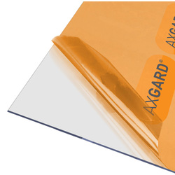 Axgard Axgard 2mm Polycarbonate Clear Impact Resisting Glazing Sheet 620 x 2050mm - 25169 - from Toolstation