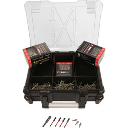 ForgeFast ForgeFast Organiser Pro Kit  - 25244 - from Toolstation