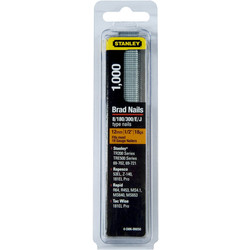 Stanley Stanley Brad Nails 12mm - 25300 - from Toolstation