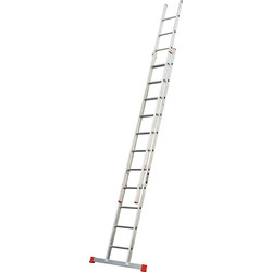 Lyte Ladders Lyte Domestic Extension ladder 2 section, Closed Length 3.3m - 25475 - from Toolstation