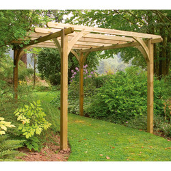 Forest Forest Garden Ultima Pergola 280cm (h) x 270cm (w) x 270cm (d) - 25486 - from Toolstation