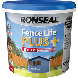 Ronseal Ronseal Fence Life Plus 5L Cornflower - 25518 - from Toolstation