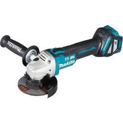 Makita Makita DGA463Z 18V Li-Ion 115mm Brushless Cordless Angle Grinder Body Only - 25626 - from Toolstation