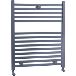Cassellie Lindley Straight Designer Radiator 690 x 500mm Anthracite 2171Btu - 25645 - from Toolstation
