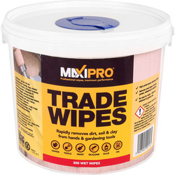 Maxipro Trade Strength Cleaning Wipes 300 Wipes - 25874 - from Toolstation