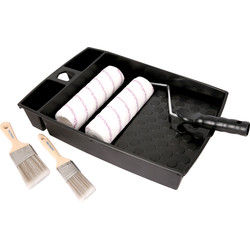 Pioneer Brush Co Pioneer Roller & Paintbrush Set  - 25959 - from Toolstation