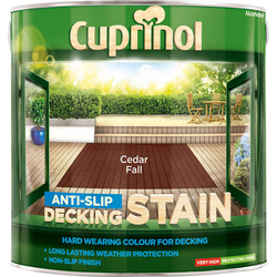 Cuprinol Cuprinol Anti-Slip Decking Stain 2.5L Cedar Fall - 25968 - from Toolstation