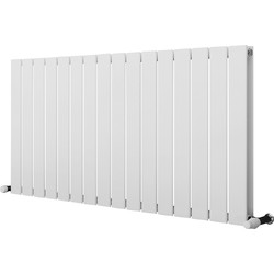Ximax Ximax Oxford Duo Designer Radiator 600 x 1195mm 4095Btu White - 25977 - from Toolstation