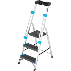 TB Davies TB Davies Premier XL Platform Step Ladder 3 Tread SWH 2.2m - 26055 - from Toolstation