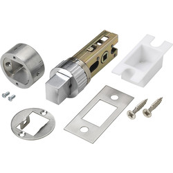 "Easy Deadbolt 2 1/2"" Satin - 26194 - from Toolstation"