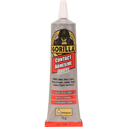 Gorilla Glue Gorilla Contact Adhesive Clear 75g - 26219 - from Toolstation