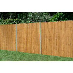 Forest Forest Garden Featheredge Fence Panel 6' x 6' - 26260 - from Toolstation