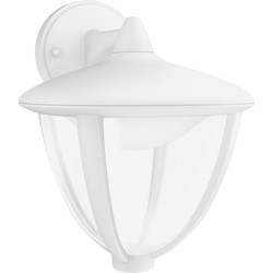 Philips Philips LED Robin Outdoor Hanging Wall Lantern IP44 4.5W White 430lm - 26269 - from Toolstation