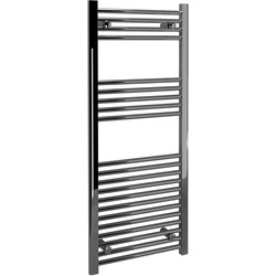 Kudox Kudox Chrome Flat Ladder Towel Radiator 1200 x 500mm 1160Btu - 26385 - from Toolstation