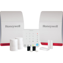 Honeywell Honeywell Wireless Home & Garden Alarm Kit HS342S - 26386 - from Toolstation