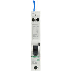 Schneider Electric Schneider Easy9 RCBO 40A 30mA SP Type B - 26469 - from Toolstation