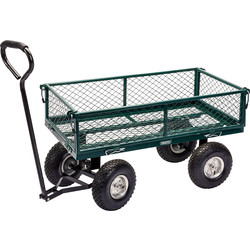 Draper Green Draper Garden Mesh Trolley Cart 200kg - 26521 - from Toolstation