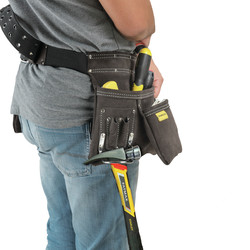 Stanley Leather Nail & Hammer Pouch