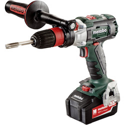 Metabo Metabo GB 18 LTX BL Q I 18V Cordless Brushless Tapper Drill Driver 2 x 5.2Ah - 26596 - from Toolstation