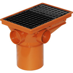 Aquaflow Integral Hopper 110mm  - 26821 - from Toolstation