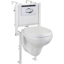 Cassellie Wall Hung Toilet  - 26857 - from Toolstation