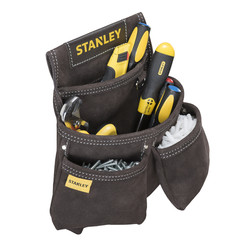 Stanley Leather Double Nail Pocket Pouch