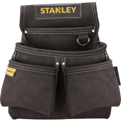 Stanley Stanley Leather Double Nail Pocket Pouch  - 26956 - from Toolstation