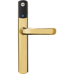 Yale Smart Living Yale Conexis L1 Smart Lock Handle Brass - 26982 - from Toolstation