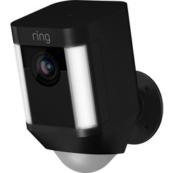 Ring by Amazon Ring Battery Spotlight Camera 1080P Black - 27026 - from Toolstation