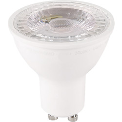 Meridian Lighting LED GU10 Dimmable Lamp 5W Cool White 370lm - 27042 - from Toolstation