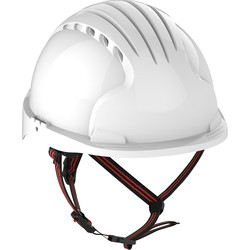 JSP JSP EVO5 Dualswitch Climbing Safety Helmet Micro Peak Wheel Vented White - 27094 - from Toolstation
