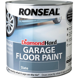 Ronseal Ronseal Diamond Hard Garage Floor Paint Slate 2.5L - 27169 - from Toolstation