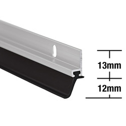 Stormguard Stormguard Heavy Duty Around Door Seal Aluminium - 27245 - from Toolstation