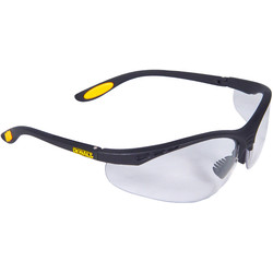 DeWalt Reinforcer Safety Glasses Clear