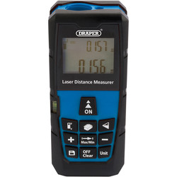 Draper Draper Laser Distance Measurer 40m Range - 27282 - from Toolstation