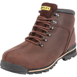 Stanley Boston Safety Boots Brown Size 9